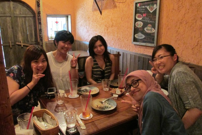 Met My Old Friends in Japan, August 2014